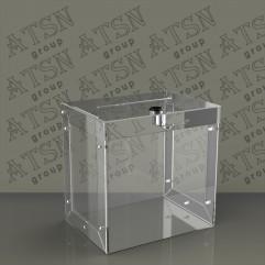 Ящик для пожертвований высокопрочный из PETg 2 мм