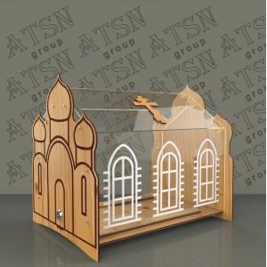 """Ящик для пожертвований """"Храм"""""""