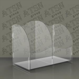Акриловая коробка на 2 отделения