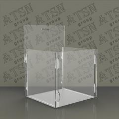 Акриловая коробка навесная