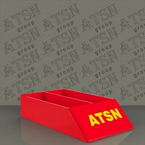 Акриловые коробки с печатью логотипа