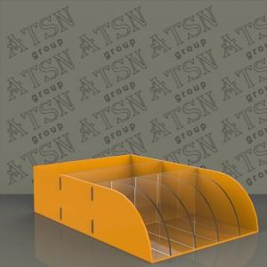 Акриловая коробка из цветного пластика