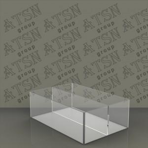 Коробка акриловая на 2 отделения
