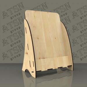 Буклетница из дерева - формат А5