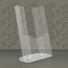 Прозрачная подставка для полиграфии - акрил