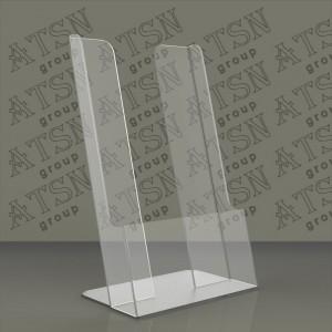 Прозрачная подставка для листовок