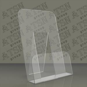Пластиковая настольная подставка для полиграфии