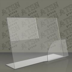 Пластиковая прозрачная подставка для полиграфии