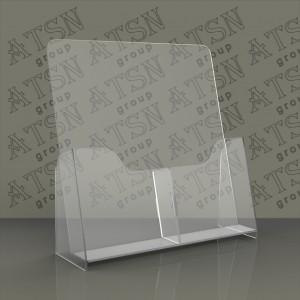 Пластиковая буклетница для полиграфии