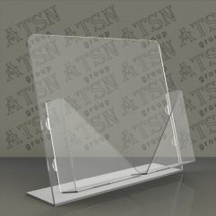 Подставка под полиграфию из прозрачного акрила