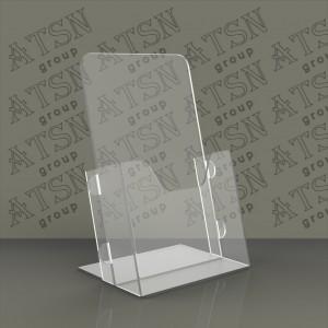 Подставка для полиграфии прозрачная