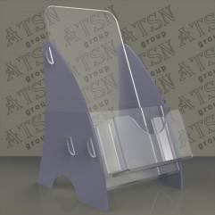 Пластиковая подставка под буклеты