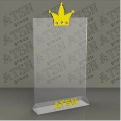 Менюхолдер с нанесением логотипа А4