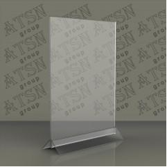 Подставка под меню из акрила А5
