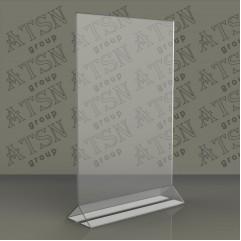 Держатели меню из прозрачного пластика А5