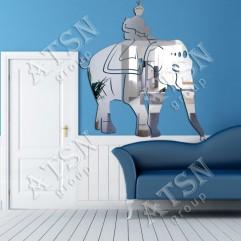 Декоративное зеркало. Слон