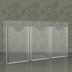 Карманы настенные из прозрачного пластика