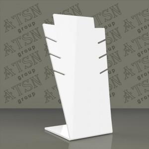 Подставка белого цвета для бижутерии