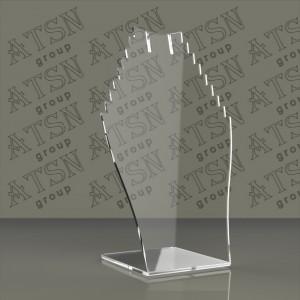 Пластиковая прозрачная подставка под бижутерию