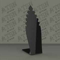 Подставка из черного акрила для бижутерии