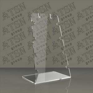 Пластиковая подставка для бижутерии