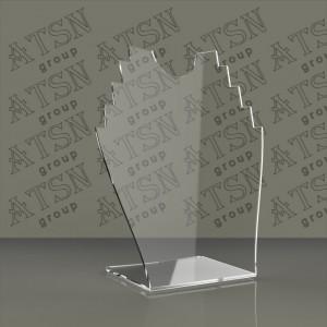 Прозрачная подставка из акрила под бижутерию