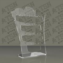 Пластиковые подставки для бижутерии