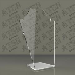 Пластиковые прозрачные подставки для бижутерии
