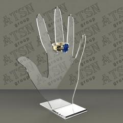 Подставка - рука под кольца