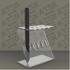 Подставка из акрила для карандашей