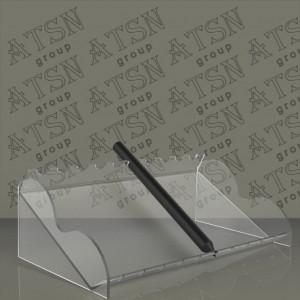 Подставка акриловая прозрачная для ручек