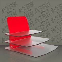 Подставка 3-х уровневая для выкладки косметики
