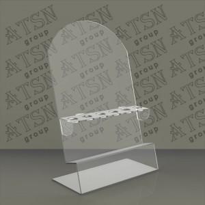 Подставка прозрачная акриловая для косметики