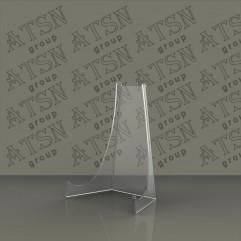 Подставка прозрачная акриловая под тарелку