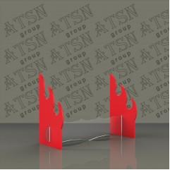 Акриловая комбинированная подставка под ножи