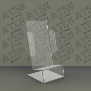 Пластиковая прозрачная подставка под телефон