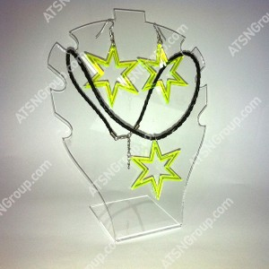 Желтая 6-ти угольная звезда комплект