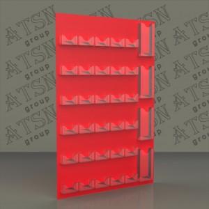 Настенный стенд под визитки - основа из ПВХ и оракала