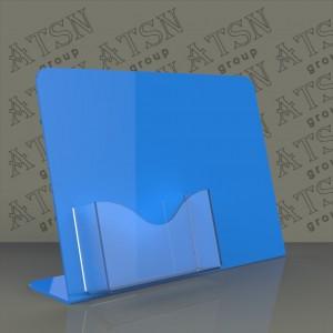 Подставки для визиток из цветного и прозрачного пластика