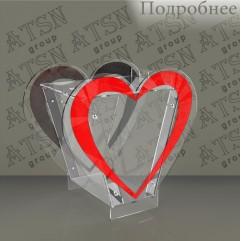 Ящик для пожертвований сердечко