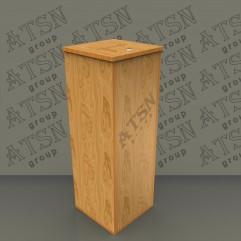 Ящик для пожертвований деревянный 300х860х300