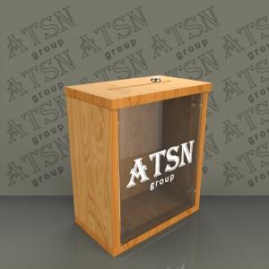 Ящик для пожертвований деревянный