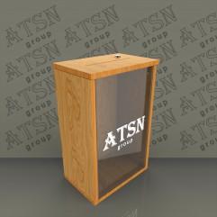 Ящик для пожертвований деревянный 300х475х200