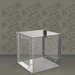 Ящик для пожертвований из акрила 2 мм