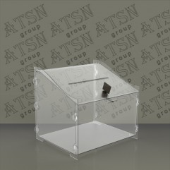 Ящик для пожертвований из акрила