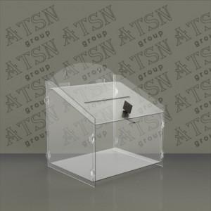 Настольная коробка для сбора пожертвований