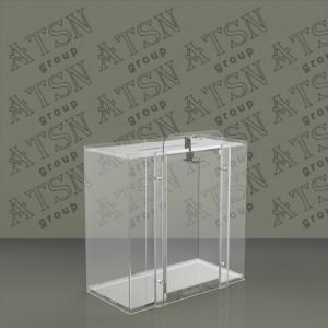 Акриловый ящик для сбора пожертвований