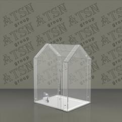 Пластиковый ящик для пожертвований