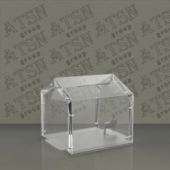 Ящик для пожертвований пластиковый