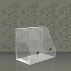 Ящик для пожертвований на два отделения